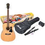 Ibanez V50NJP Acoustic Jam Pack, Natural V50NJPNT