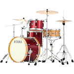 Tama Silverstar 4-piece Jazz Drum Kit, Vintage Burgundy VD40VSVBG