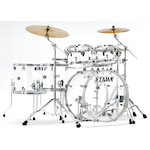 Tama  Silverstar Custom Acrylic 6-piece Limited Drum Kit, Crystal Ice VI62RZSCI