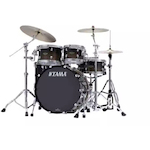 The TAMA Starclassic Walnut/Birch 5-Piece Shell Pack With 22