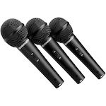 Behringer Dynamic Cardioid Mic 3 Pack XM1800S