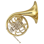 Yamaha French Horn, Gold Lacquer YHR567
