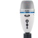 CAD Microphone USB Condensor w/Headphone Out ZOE