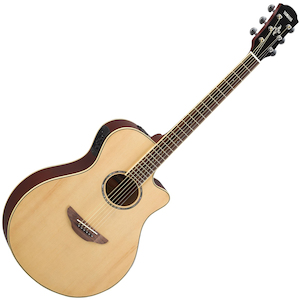 Yamaha APX Slimline Acoustic/Electric Guitar, Natural
