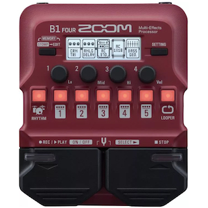 Zoom Guitar Pedal Multi Effects Processor