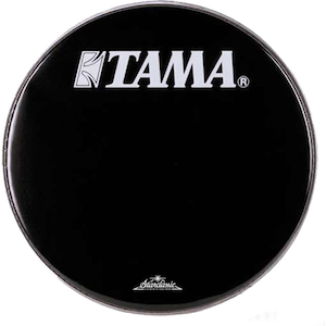 Tama 20 inch Starclassic Logo Drum Head, Black