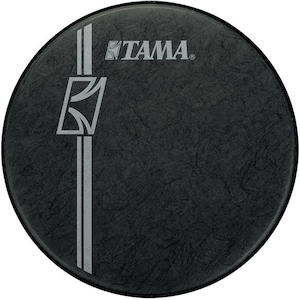 Tama 22 inch Hyperdrive Logo Drum Head, Black