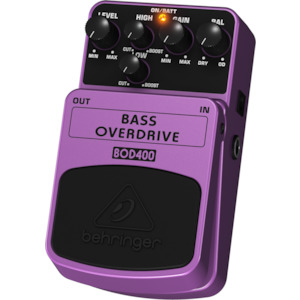 Behringer Bass Over Drive Pedal
