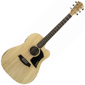 Cole Clark Guitar AcouElec Bunya Top Maple B&S
