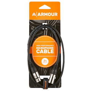 Ashton Microphone Cable Xlr>Xlr 3 Ft, High Performance