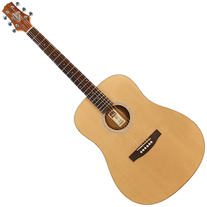 Ashton D20L Acoustic Left Handed Matte Natural