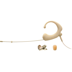 Que Audio Headworn Mic, Beige