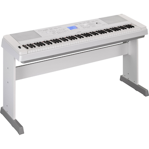 Yamaha Portable Digital Piano, Weighted Keys, White