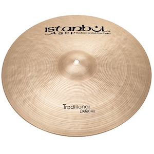 Istanbul Agop 22 inch Traditional Dark Ride Cymbal