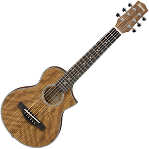 Ibanez Exotic Wood Piccolo Acoustic, Open Pore Natural