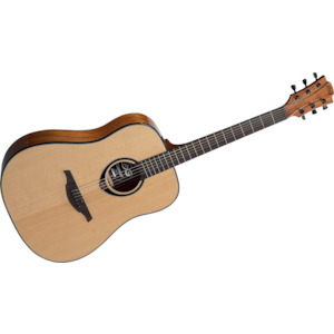 Lag Dreadnought Guitar Natural