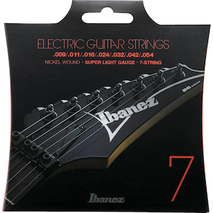 Ibanez Electric Guitar 7-String Set 9-54