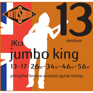 Rotosound Acoustic Strings 13-56 Phosphor Bronze