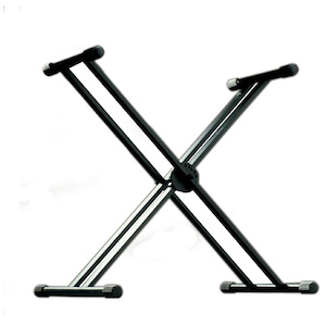 Ashton Double Braced Keyboard Stand, Quick Release