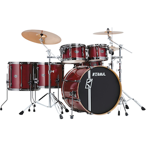 Tama  Superstar Hyperdrive Maple 6-piece Drum Kit, Classic Cherry Wine