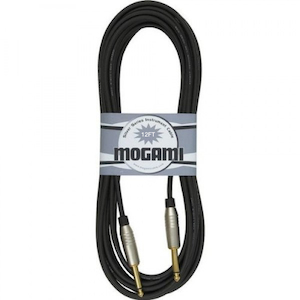 Mogami Silver Guitar Cable 12 Foot