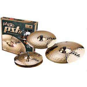 Paiste PST8 Reflector Rock Cymbal Pack 14/16/20