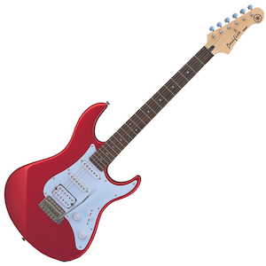 Yamaha Pacifica Electric Guitar, Red
