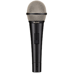 Electro-Voice Vocal Microphone, Dynamic, Supercardioid, On/Off Switch
