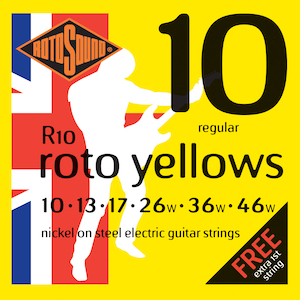 Rotosound Electric Guitar Strings 10-46