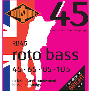 Rotosound Bass Strings 45-105 Nickel