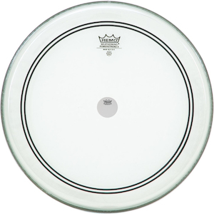 Remo 20 Inch Clear Powerstroke3 Drum Head With Falam Slam