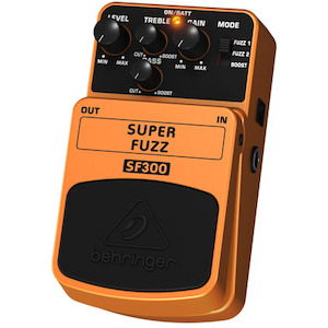 Behringer Pedal 3-Mode Fuzz Distortion