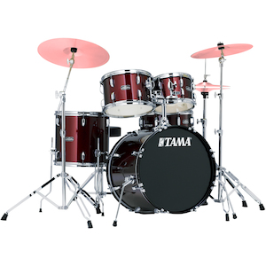 Tama Stagestar 5-piece Jazz Kit, Wine Red