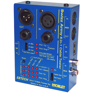 Morley 6 in 1 Cable Tester