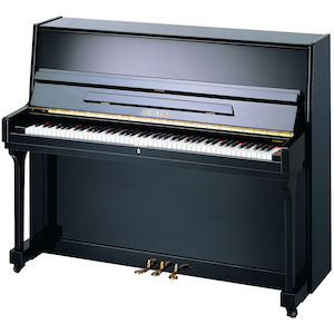 Beale Upright Piano, #11 Polished Ebony