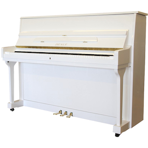 Beale Upright Piano White