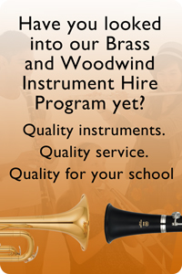 Try out MusicWorks' Brass and Woodwind Instrument Hire Program