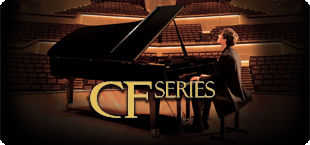 Piano Advertisement: CF Series