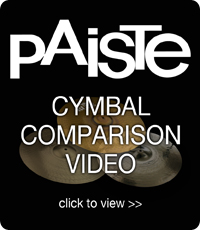 Paiste Cymbal Comparison Video